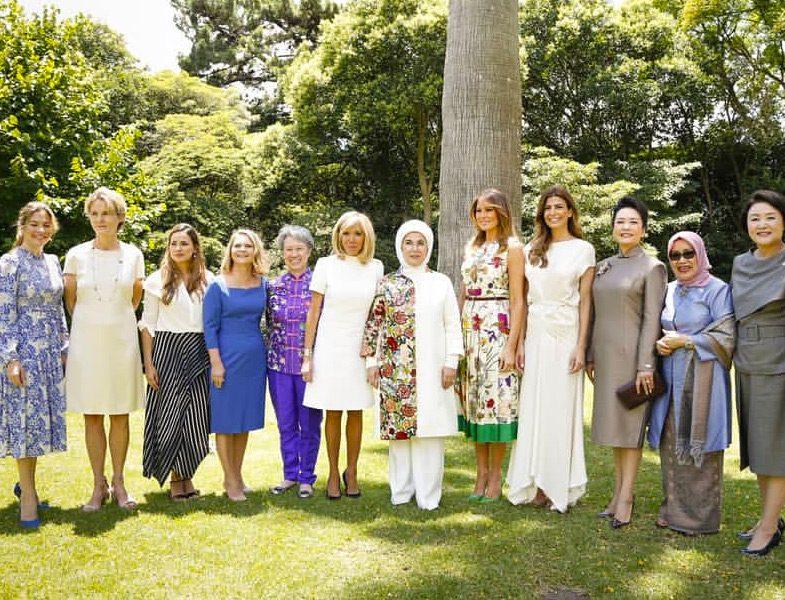 G20 Zirvesine Katılan First Lady'lerin Giyim Stilleri