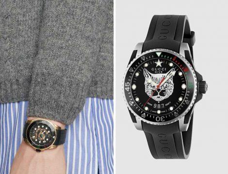 Gucci Dalgıç Saati Modelleri