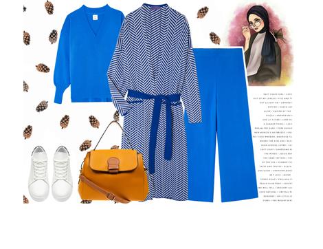 """Aralık Ayının Rengi """"Pagoda Mavisi"""" Nedir, Kıyafetlerde Nasıl Kombinlenir?"""