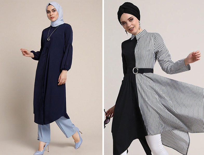 Refka Uzun Tunik Modelleri