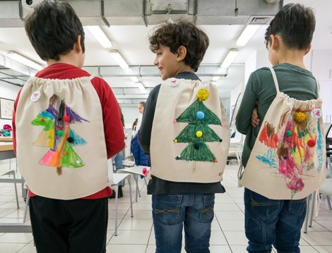 Akbank Sanat Çocuklar İçin Çanta Tasarlama Atölyesi