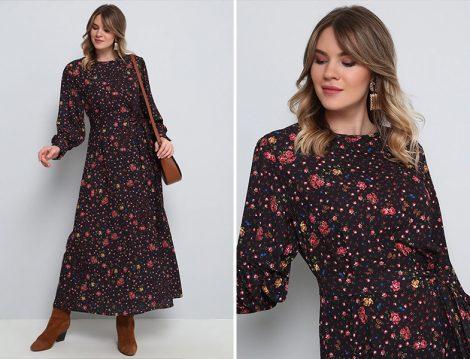 Alia Çiçek Desenli Elbise