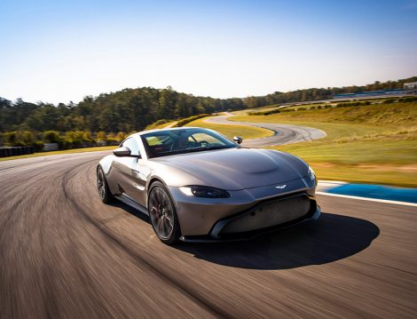 Aston Martin Vantage Gri