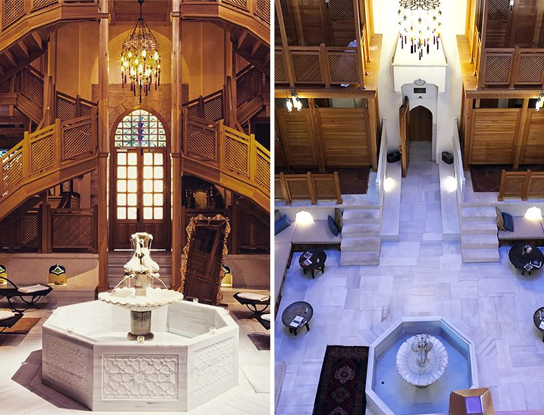 Ayasofya Hürrem Sultan Hamamı Dekorasyon