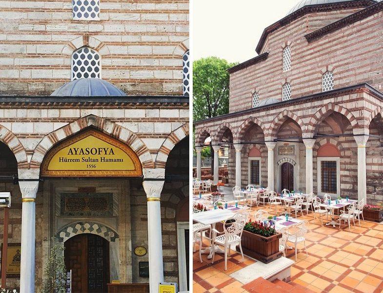 Ayasofya Hürrem Sultan Hamamı Kafe