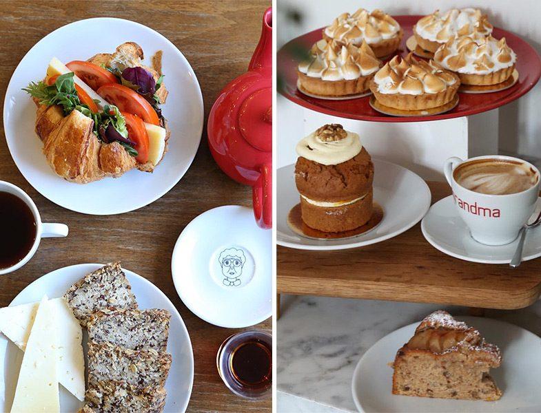 Grandma Bakery Cafe Tatlı - Kahve ve Sandvic - Çay