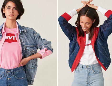 Levi's® 2019 İlkbahar Denim Ceket ve Basic Tişört