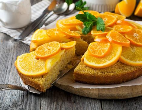 C Vitamini Yönü Yüksek 3 Meyve İle 3 Kış Keki Tarifi