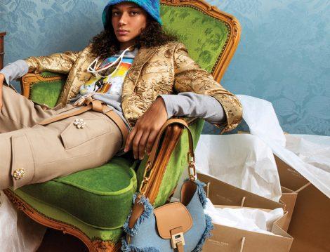 Michael Kors Collection İlkbahar 2019 Taş Detaylı Bol Pantolon