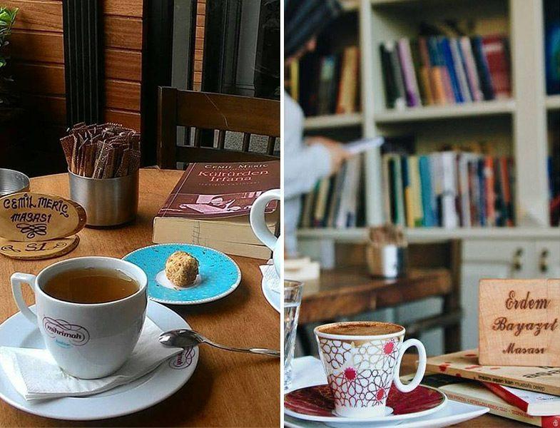 Mihrimah Kahve Yazarlar Masası