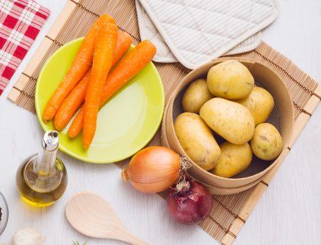 Patates Soğan ve Havuç İle Doğal Saç Maskesi