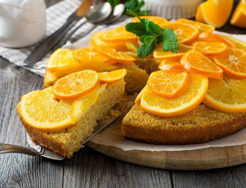 Portakal ve Mandalinalı Kek