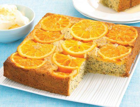 Portakallı Haşhaşlı Kek Tarifi