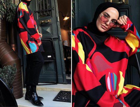 Touche Official Karışık Renkli Sweatshirt