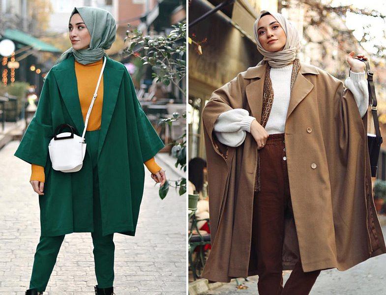 Yarasa Kol Dış Giyim Modelleri