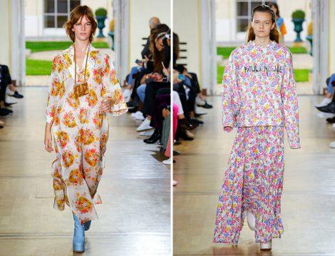 2019 İlkbahar – Yaz Koleksiyonlarından Çiçekli Elbise ve Etek