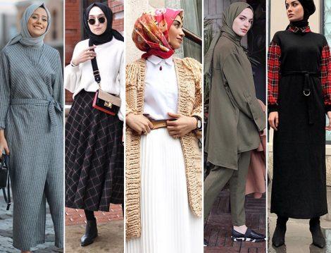 2019 Tesettür Tulum - Etek ve Elbise Modelleri