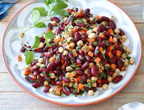 Baklagiller Salatası Tarifi