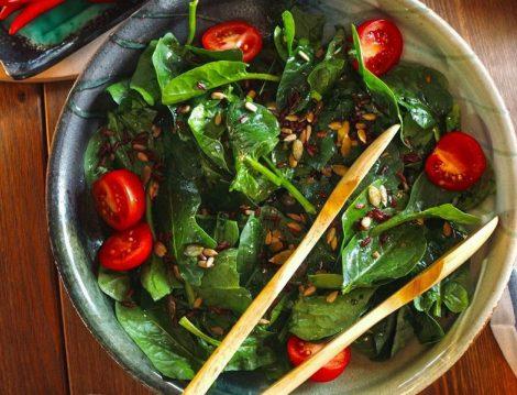 Ispanak SalatasıTarifi