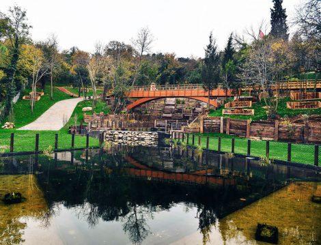 Nakkaştepe Millet Bahçesi Biyolojik Gölet
