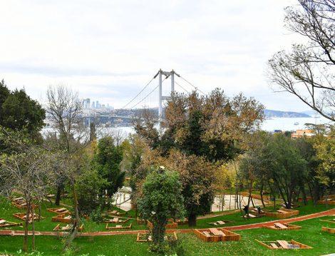 Nakkaştepe Millet Bahçesi Boğaz Manzarası