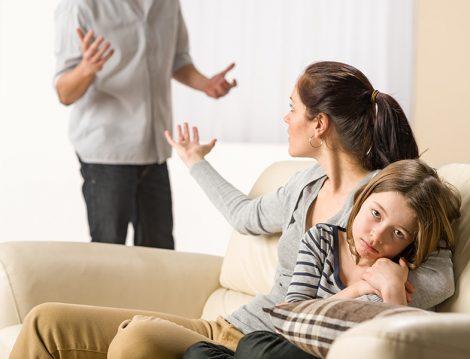 Çocukların Yanında Eşler Arası Tartışma