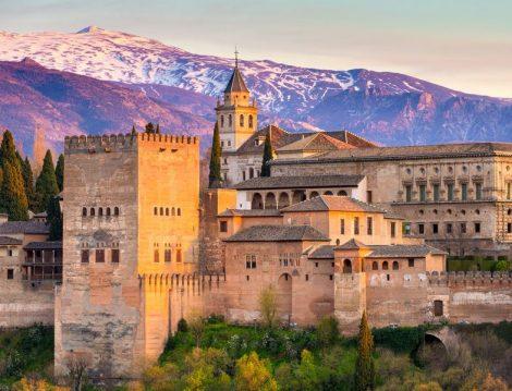 İspanya El Hamra Sarayı