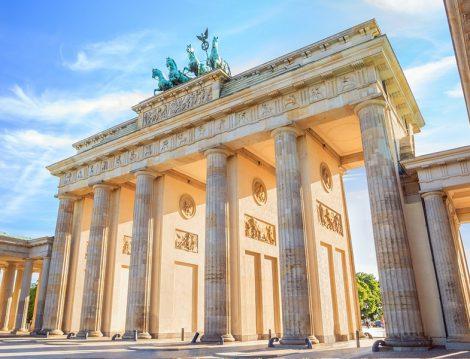 Almanya Berlin Brandenburg Kapısı