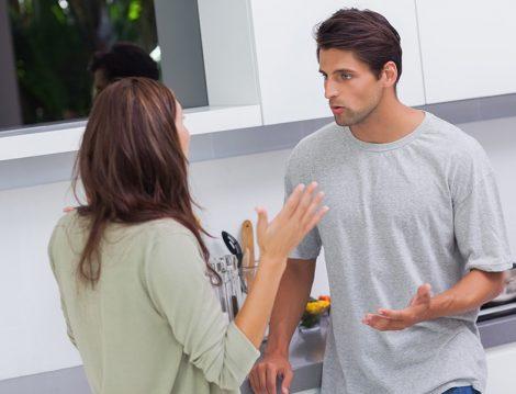 Evliliklerde Eşler Arası Tartışma