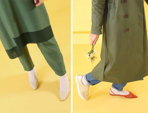 HE-QA 2019 İlkbahar Yaz Koleksiyonu Beyaz Çorap Trendi