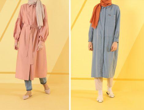 HE-QA 2019 İlkbahar Yaz Koleksiyonu Tunik Modelleri