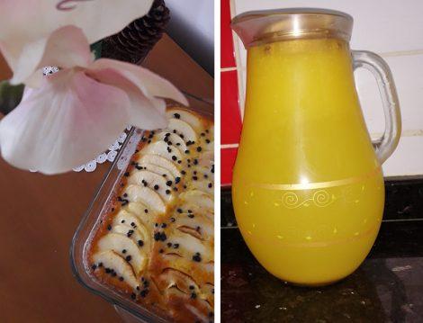 Limonata ve Elmalı Kek