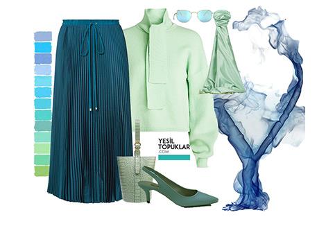 Baharın Favori Rengi Mint Yeşili Nasıl Giyilir?