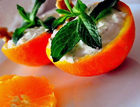 Portakal Kabuğunda Kereviz Salatası