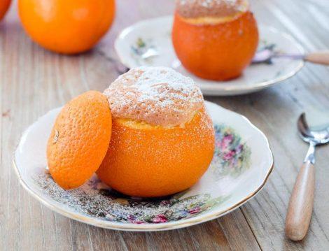 Portakal Kabuğunda Sufle