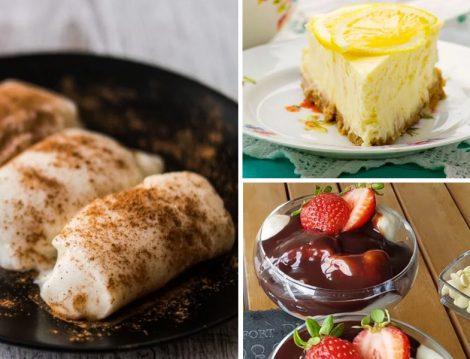 Yalancı Limonlu Cheesecake - Yalancı Tavukgöğsü - Yalancı Prefiterol