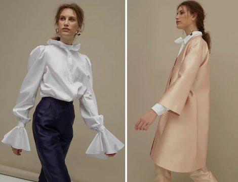 Zeynep Serdengeçti Saten Ceket ve Beyaz Gömlek