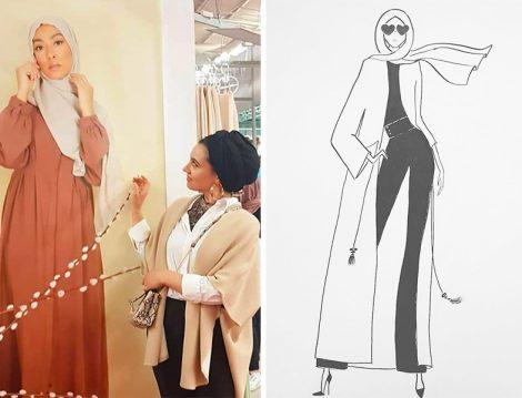 İstanbul Moda Haftasına Katılan Muhafazakar Moda Fenomenler