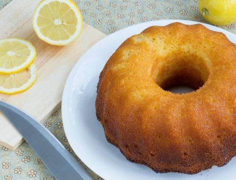 Şekersiz Limonlu Kek