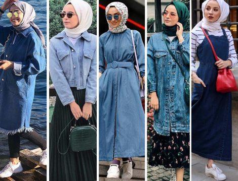 Denim Tunik-Ceket-Elbise-Jile