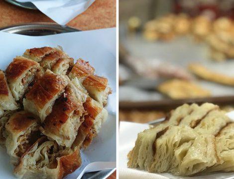 Kasımpaşa Börekçisi Börek Çeşitleri