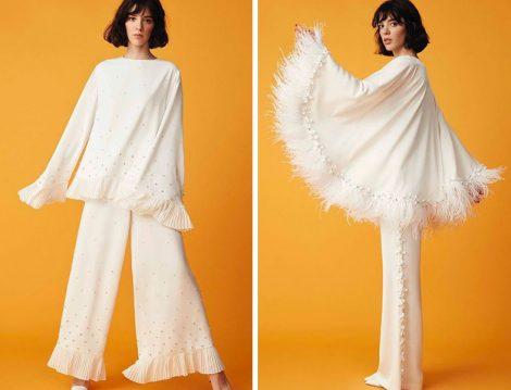 Nihan Peker 2019 İlkbahar Yaz Pantolon Tunik İkili Takım
