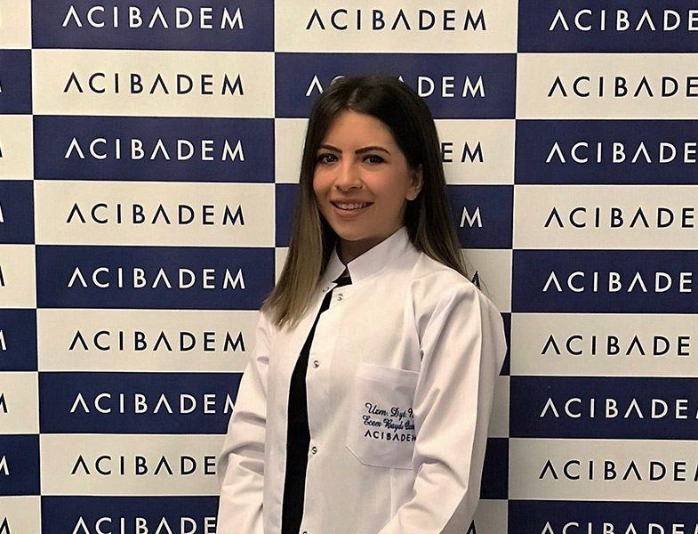 Acıbadem Kozyatağı Hastanesi Beslenme ve Diyet Uzmanı Nur Ecem Baydı Ozman