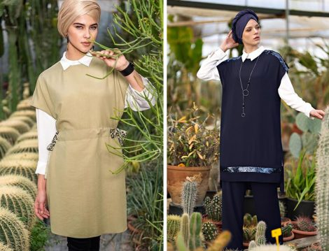 Alvina 2019 İlkbahar&Yaz Koleksiyonu Üçlü Takım Modelleri