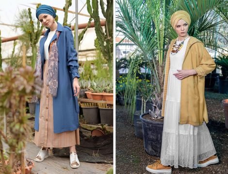 Alvina 2019 İlkbahar&Yaz Koleksiyonu Trençkot Modelleri