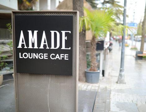 Bağdat Caddesi'nin En Yenisi Amade Lounge & Cafe Açıldı!