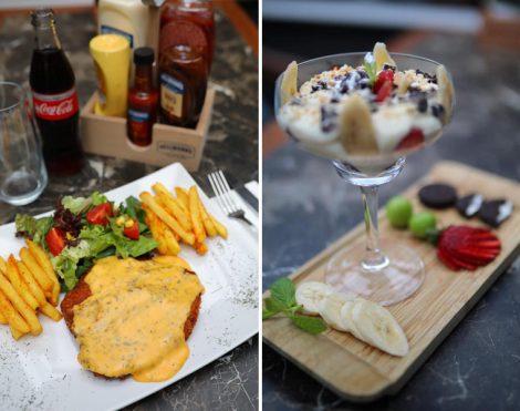 Amade Lounge Cafe Lezzetler