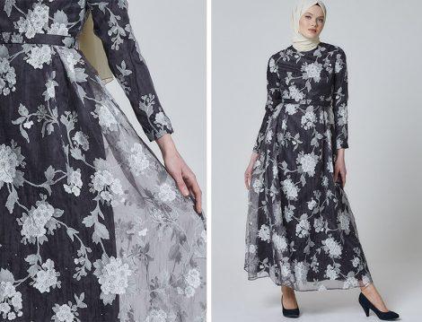 Armine Siyah Elbise