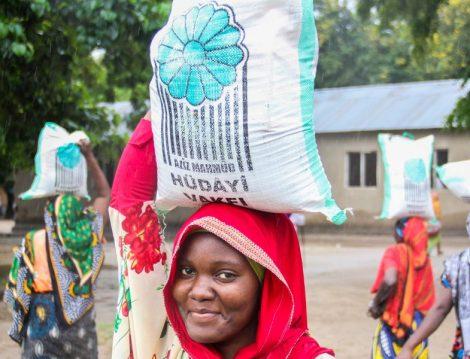Hüdayi Vakfı Tanzanya Gıda Yardımı