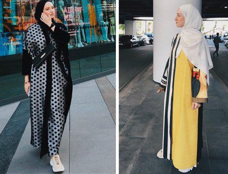 Instagram Moda Fenomeni Beyza Lami Abaya ve Ferace Kombinleri